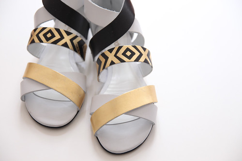 Gatsby DIY sandals | by Morning by Foley
