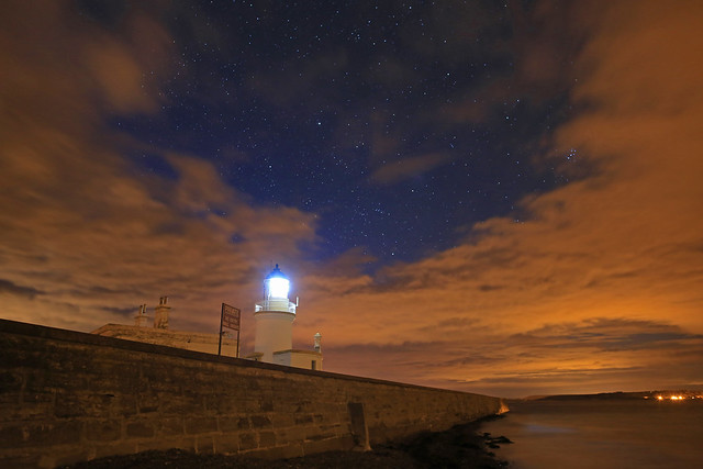 Chanonry Point At Night.