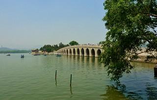 Seventeen Arch Bridge, Summer Palace Park, Beijing, China