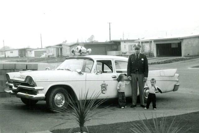Officer Handrahan, Barrydale Street, La Puente, 1958 / 59
