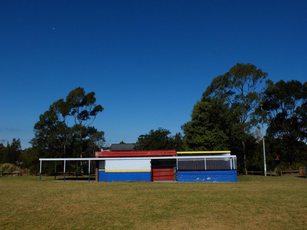 Change room - Kyeemagh, NSW.