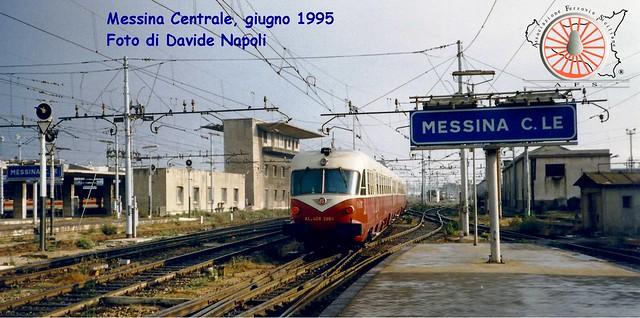 Novembre 2013 - TEE in partenza da Messina Centrale
