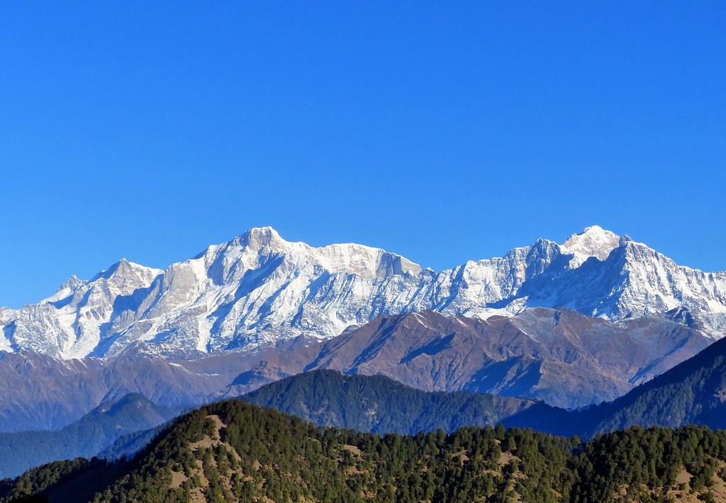 Himalayan Range from Kedarnath. Image Courtesy: Flickr