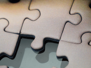 Jigsaw puzzle (detail) | by James E. Petts