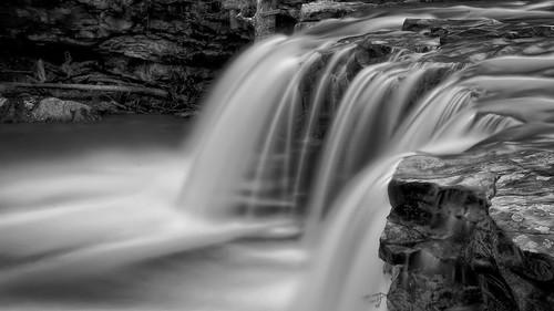 blackandwhite water waterfall waterfalls arkansas ozarks hdr ozarknationalforest canon60d fallingwatercreek fallingwaterfalls machineryhdr