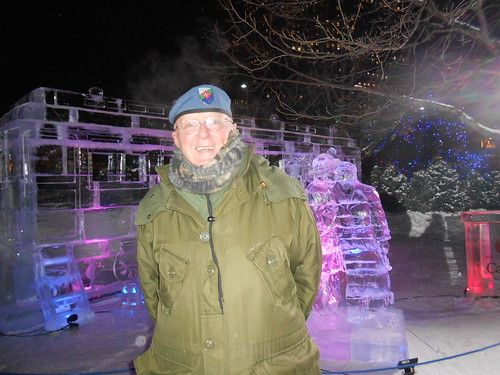 Troop Train Ice Sculpture | by natoveterans