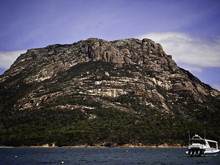 Mt Mayson, seen from Coles Bay | by Tasmanian.Kris