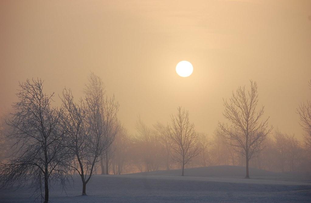 Winter Sun at Westlake
