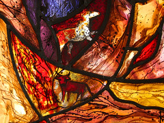 Fire (detail) by Pippa Blackall (2001)
