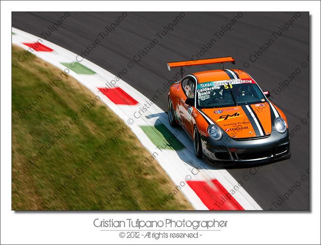 Targa Tricolore Posche - #53 Caldarella Sebastiano/Bosio Roberto