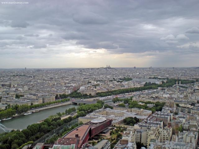Parigi dall'alto della Tour Eiffel