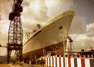 Launch of the passenger ship 'Northern Star'