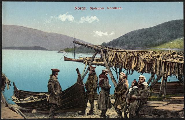No. 41. Norge. Sjølapper, Nordland