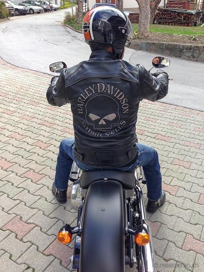 Harley Davidson Lederjacke | Walter Schärer | Flickr