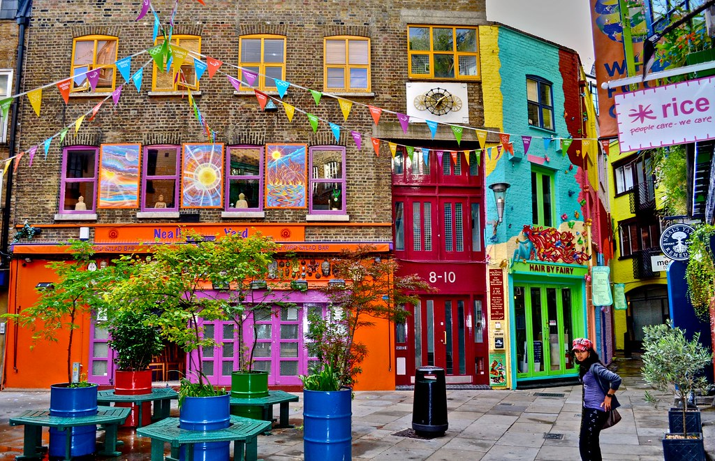 Neal's Yard, Londra, hidden gems in London