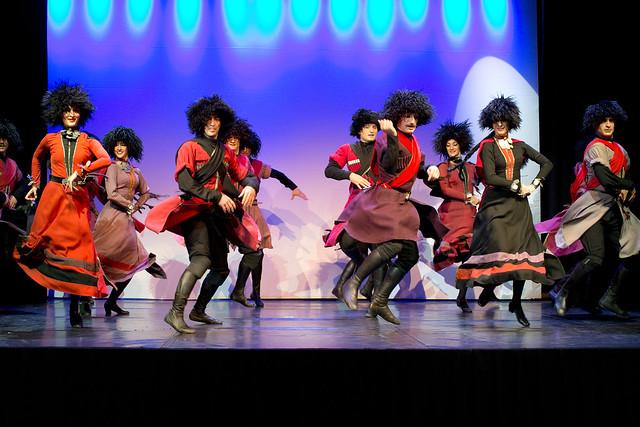 Georgian Dance Performance Marks Opening of WIPO Assemblies