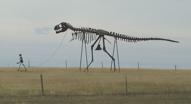23 Sep South Dakota - Walkies along side IS90 1 km west of 1880s Town, 23 Sep 2013.