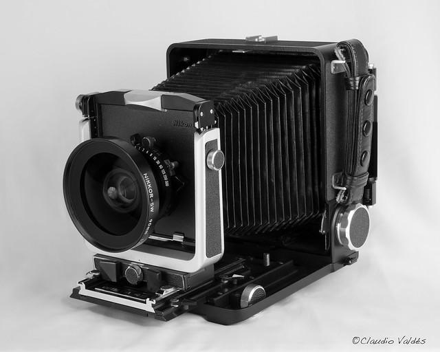 Wista 45, large format camera