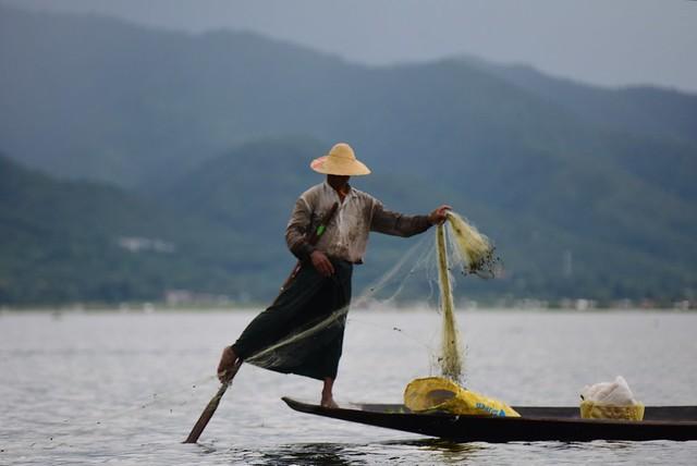 Inle lake,   Myanmar  D810 1345