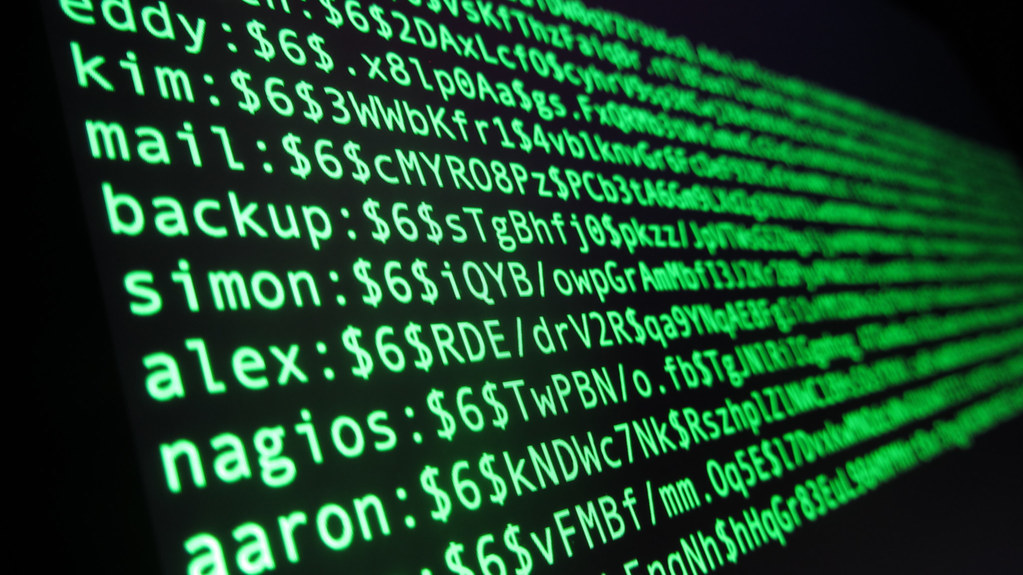 ... Linux password file - by Christiaan Colen