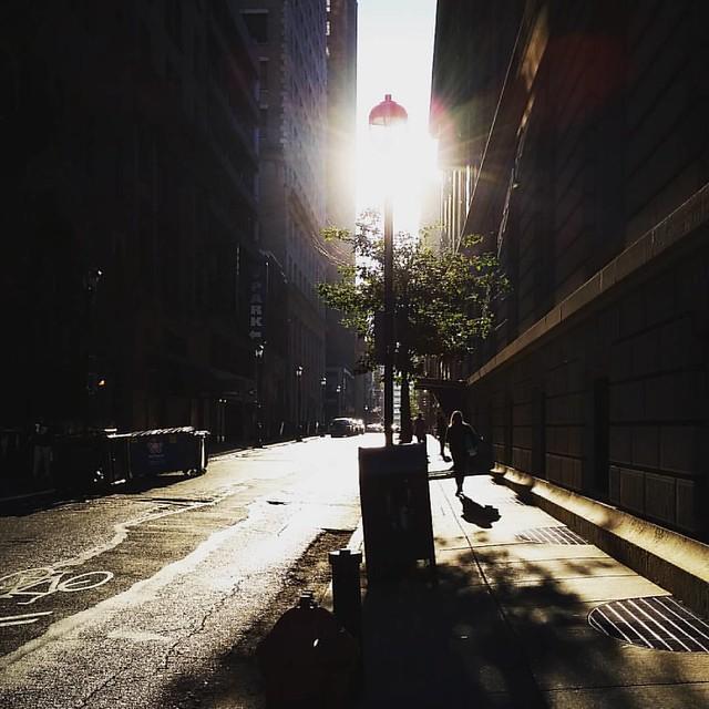 Good morning, Sansom Street.
