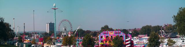 Nottingham Goose fair 20015