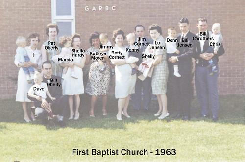 FBC 1963 babies - key
