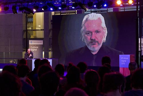 Videoconferencia con Julián Assange - Foro Cultura Digital | by Secretaría de Cultura de la Nación