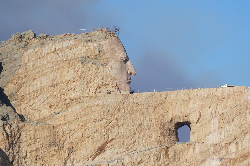 Crazy Horse Memorial | The Crazy Horse Memorial is a mountai