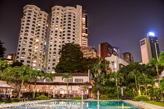 Goodwood Hotel Pool and Skyline