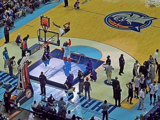 TWC Arena Charlotte Bobcats | by ericlwoods
