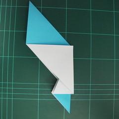 การพับกระดาษเป็นรูปตัวเม่นแคระ (Origami Hedgehog) 015