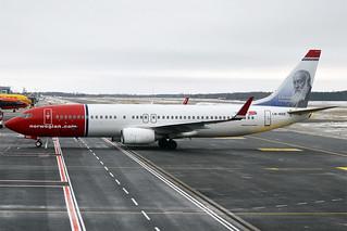 Norwegian (Christian Krohg livery), LN-NOX, Boeing 737-8JP | by Anna Zvereva