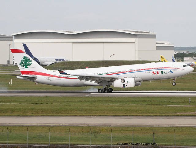 MEA-Middle East Airlines. Airbus A330-243.
