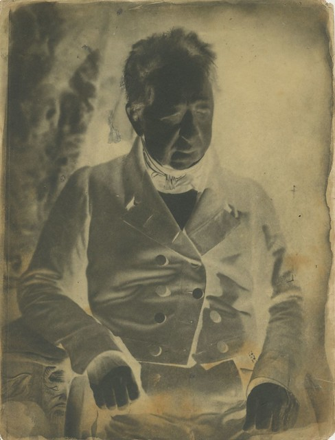 Hill & Adamson - Unidentified Man, 1845