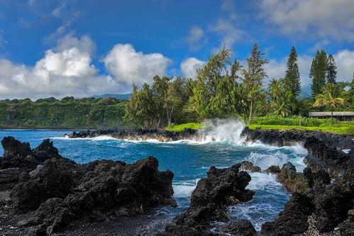 sea vacation sky water america landscape outdoor scenic maui a7ii hanaroad
