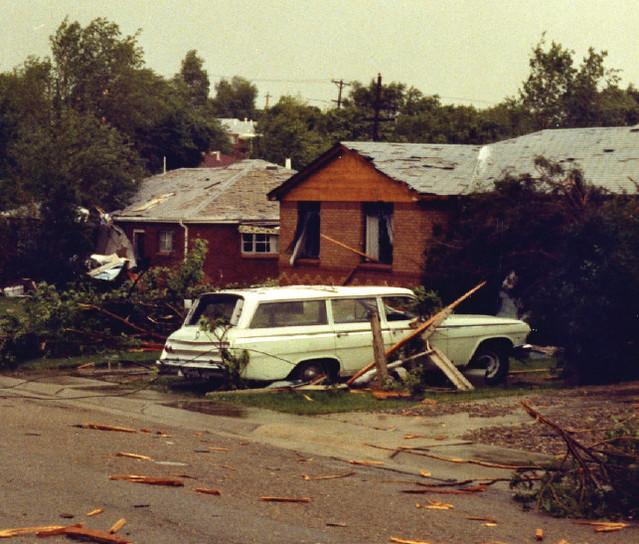 a look back at the most destructive tornado in denver metro history june 3 1981 thornton colorado thorntonweather com june 3 1981 thornton colorado
