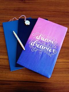 71 - Dream on Dreamer notebook 01