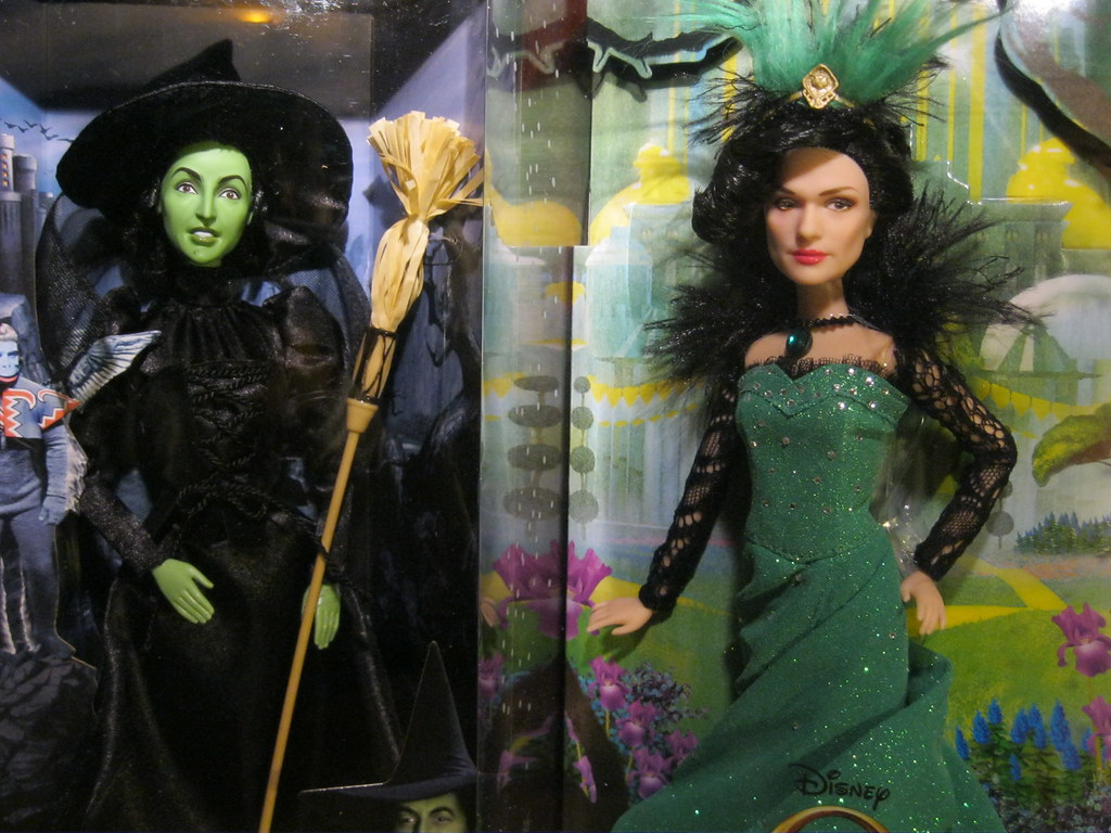 Mattel Wicked Witch Of The West Disney Store Evanora Wi Flickr