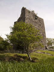 Moy Castle, Loch Buie, Mull, Argyll & Bute