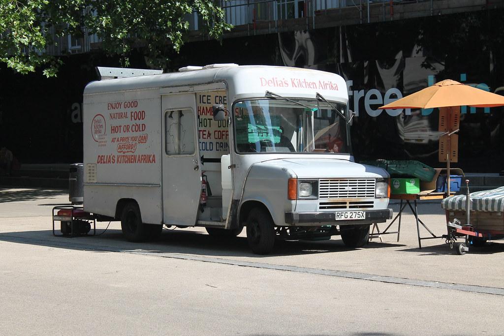 food truck restaurants near british museum
