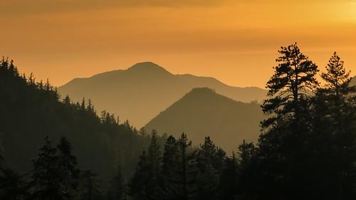 sunset sky orange canon landscape hiking nye powershot hills mount newyearseve december31 baldy sangabrielmountains angelesnationalforest losangelescounty 2013 mountsanantonio sanantoniocanyon sx260