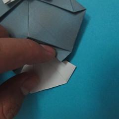 วิธีการพับกระดาษเป็นรูปนกเค้าแมว 034