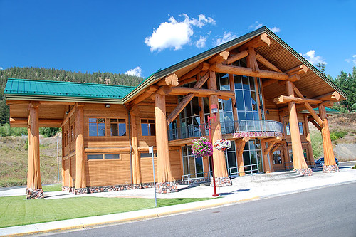 Visitor Centre in Williams Lake, Highway 97, Cariboo, British Columbia, Canada