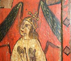 iconoclasm: 15th Century angel