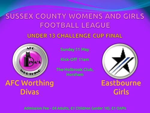 SCWGFL Cup Final Poster 2014 (Under 13) | by SCWGFL