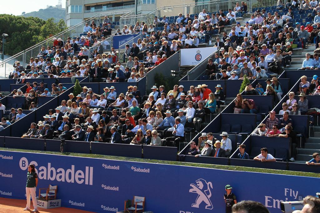 Debut de Rafa Nadal en el Barcelona Open Banc Sabadell