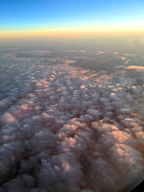 Sunset on Clouds