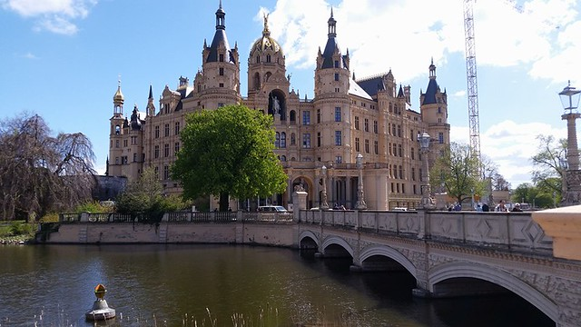 Duke's Palace in Schwerin, Germany