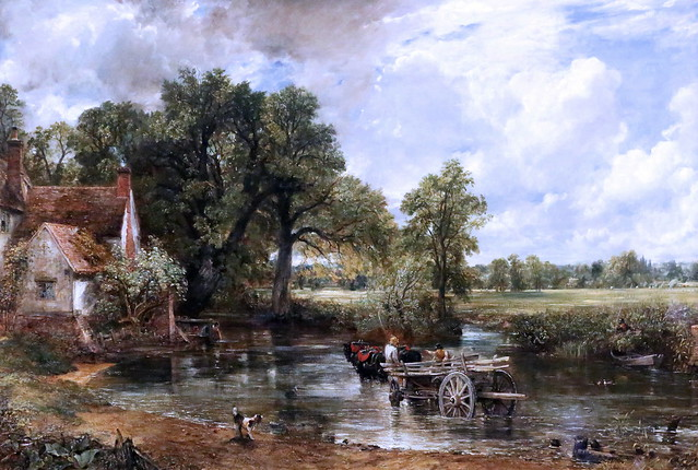 IMG_1560D John Constable. 1776-1837. The Hay Wain. 1821.     Londres National Gallery.